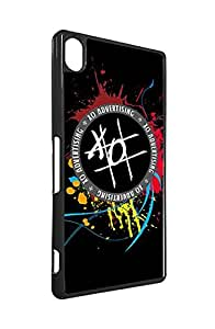 Sony Xperia Z3 Phone Case Fundas XO Brand Logo Shock-Absorption Fundas for Sony Xperia Z3, Customized Brand Logo Fundas Case XO Logo Sony Xperia Z3 Fundas
