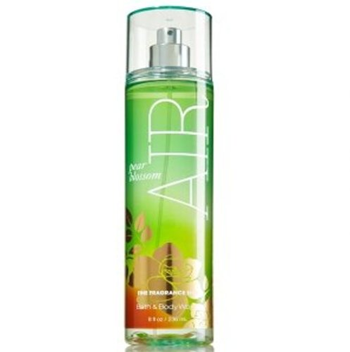 Bath and Body Works Pear Blossom Air Fine Fragrance Mist 8 Ounce Full Size Retired Fragrance Spray