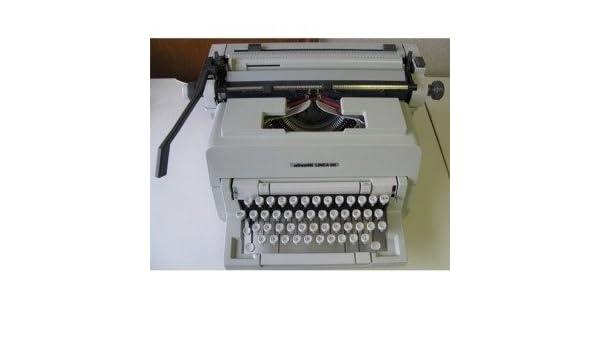 Olivetti Linea 98 Manual Máquina de escribir: Amazon.es: Oficina y papelería