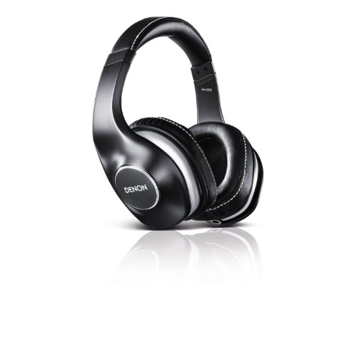 Denon AH-D600 Music Maniac Over-Ear Headphones, Black