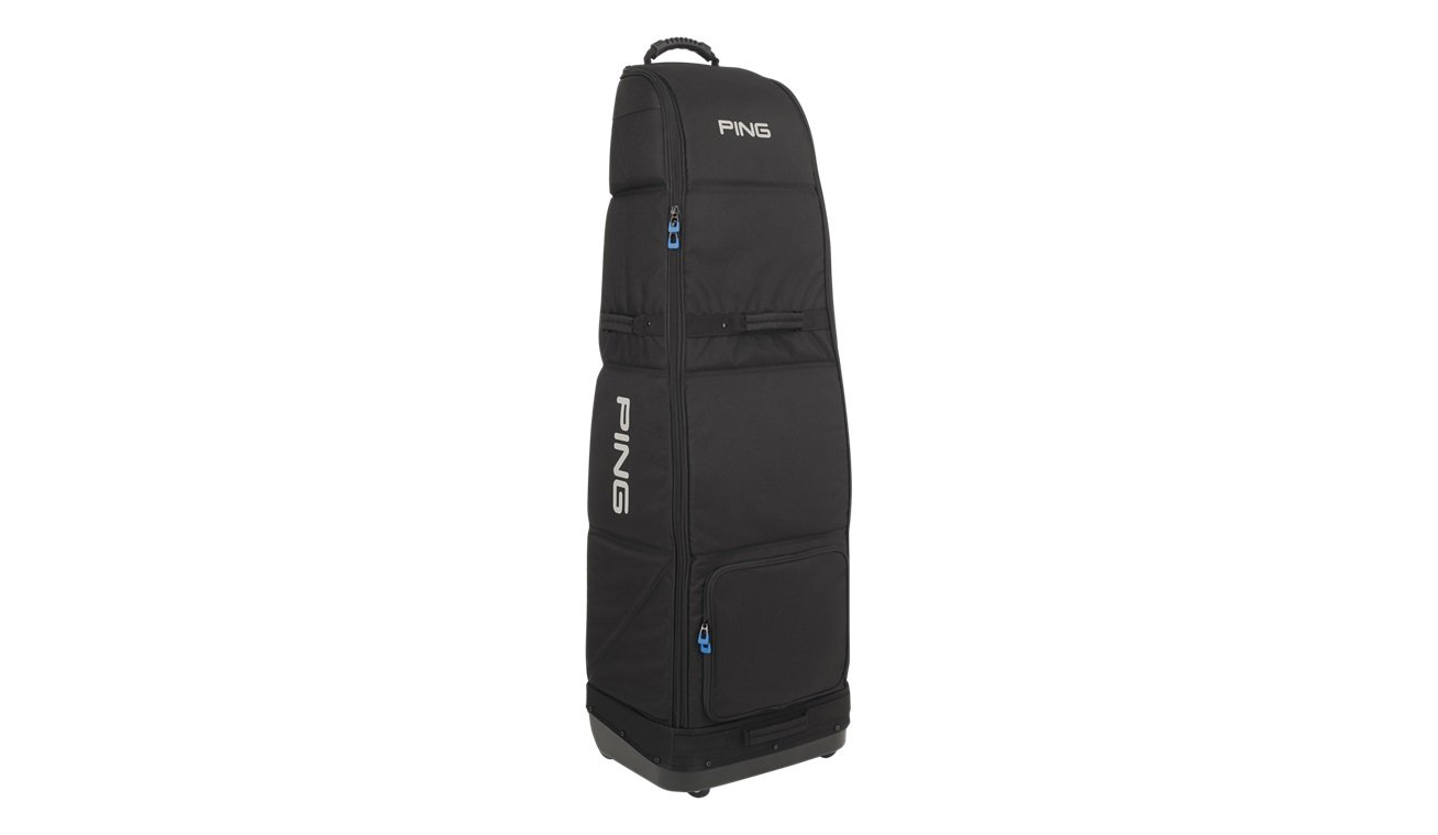 PING Golf Men's Rolling Travel Cover, Black by Ping (Image #1)
