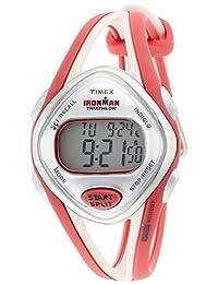 TIMEX Ironman Sleek 50 lap Mid-size Coral Pink T5K787 Ladies