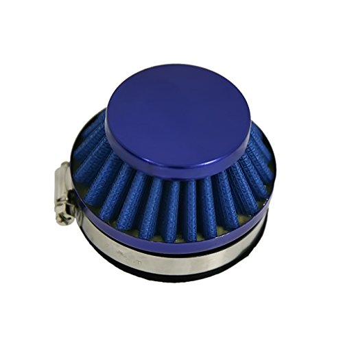 Blue Air Filter 60MM for Carburetor 49cc 60cc 80cc 2 Stroke Motorized Bicycle