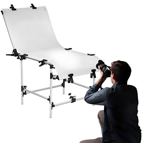 Safstar Photo Shooting Table PVC Board Non-Reflective Photo Studio Bench (23''x51'') by Safstar (Image #3)