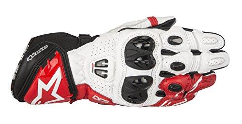 Alpinestars Gp Pro Glove - Alpinestars Men's GP Pro R2 Leather Glove (Black/White/Red, Large)