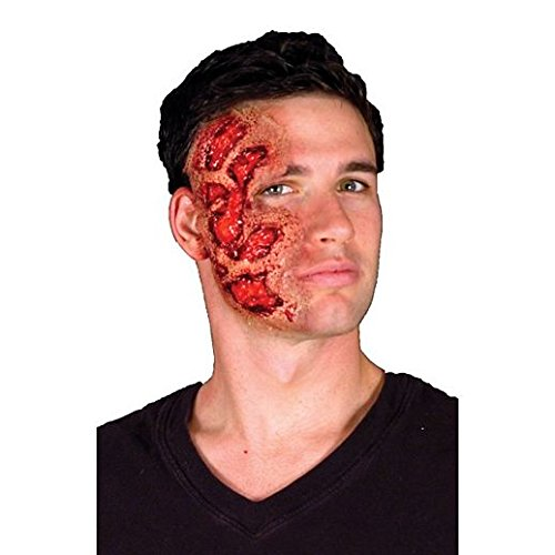 Fancy Face Paint Color Halloween Burn 3D -
