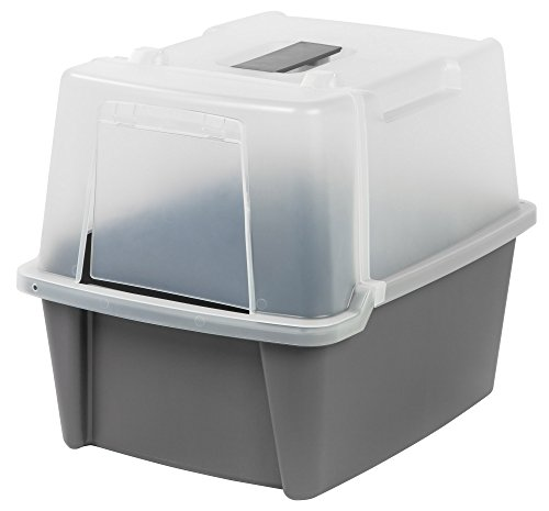IRIS Split-Hood Litter Box 41 n9xaKElL