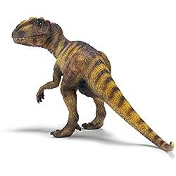 Schleich Réplica de Figura de Dinosaurio Alosaurio, color beige con café