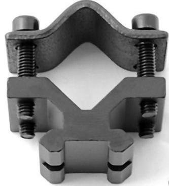 (Rifle Barrel Clamp Accessory Weaver Mount Rail)