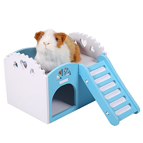 Hamster House, Hideout Hut for Small Animals Castle Sleeping House Nest Exercise Toy like Dwarf Hamster and Mouse -