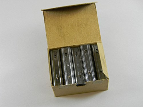 SWEDISH 6.5 m/m 5 ROUND STRIPPER CLIPS. BOX OF 40 PIECES. NORTHRIDGE INTERNATIONAL INC. (Best Stripper Clips For Sks)