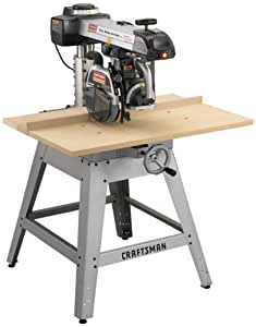 Craftsman 9-22010 Professional 3 Horsepower 10-Inch Radial Arm Saw with Laser Trac