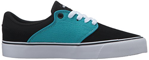 DC Mens Mikey Taylor Vulc Mikey Taylor Signature Skate Shoe, Burgundy, 10 M US Black/Ocean/White