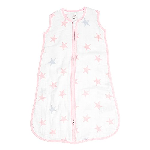 aden by aden + Anais Classic Sleeping Bag, 100% Cotton Muslin, Wearable Baby Blanket, Doll - ()