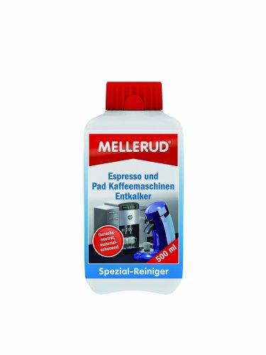 MELLERUD Espresso und Pad Kaffeemaschinen Entkalker 0,5 L 2001001032