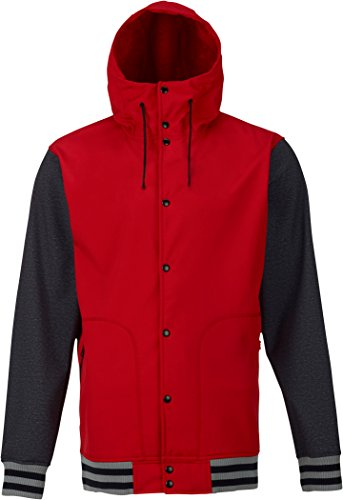 Burton Men's Capital Softshell, Process Red, Large