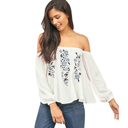 CUCUHAM tops off the shoulder crop top skirt dresses jeans news ladies for women tunic going out cute lace party blouses womens shirts summer halter (White, US:8/CN:L)