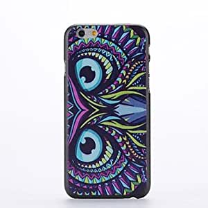 CuteFaiy Cases For Apple Iphone Owl Design Pattern Plastic Hard Back Cover for iPhone 6 Plus