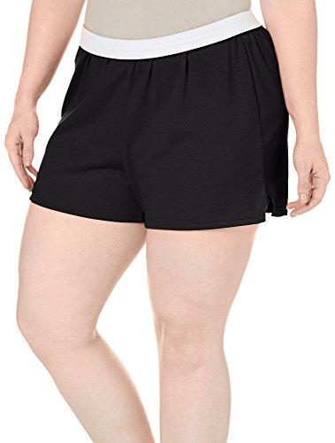Soffe Juniors Plus Authentic Shorts 3X Black