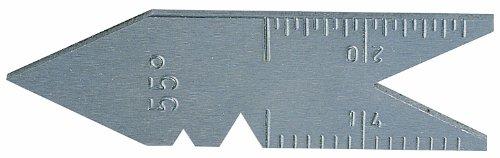Metrica 35011 Calibre de filetage angle 60/°