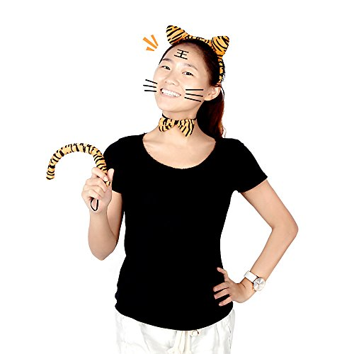 Wholesale Dropship Costumes Jewelry - EverTrust(TM) Halloween Leopard Print Plush Fluffy