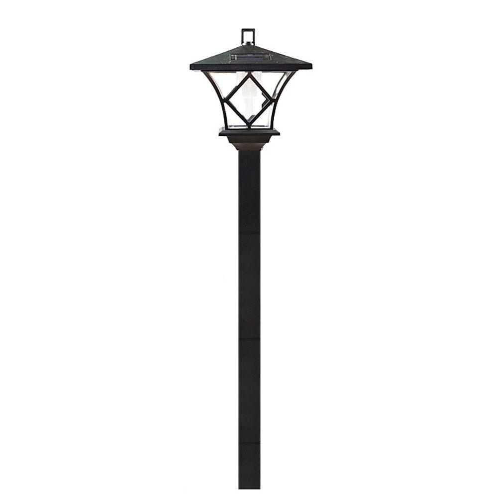 TTnight Solar Power LED Garden Lamp Outdoor Path Landscape Lawn Waterproof Light