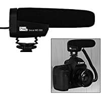 Pixel Professional Voical Recording Microphone MC-550 Photography Interview Shotgun MIC Microphone for DSLR Camera DV Camcorder (Need 3.5mm Interface)