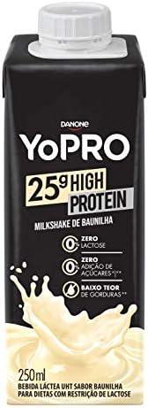 Bebida Láctea 25g de proteína milkshake de baunilha YoPRO 250ml