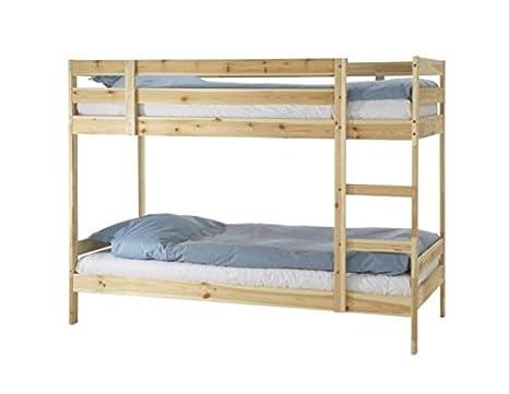 Etagenbett Ikea : Mydal etagenbett kiefer ikea für cm matratzen