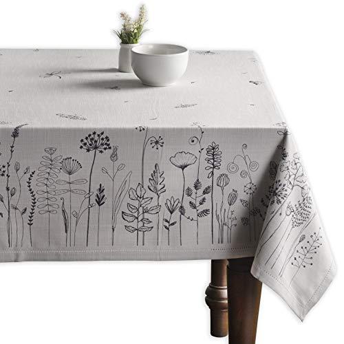 Maison d' Hermine Flore 100% Cotton Tablecloth 60 Inch by 90