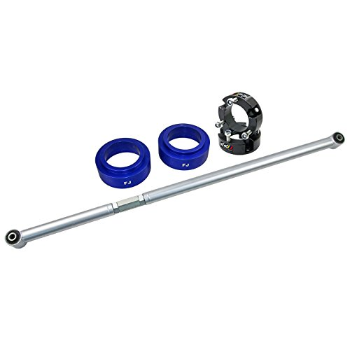 Front+Rear Strut Spacer Leveling Lift Kit Rear Panhard Rod Fit Toyota FJ Cruiser