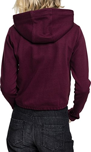 Interlock Donna 1151 Classics Ladies Short Felpa Rot Urban Hoody cherry 4qTYEpzww
