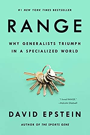 Amazon.com: Range: Why Generalists Triumph in a Specialized World eBook:  Epstein, David J. : Kindle Store