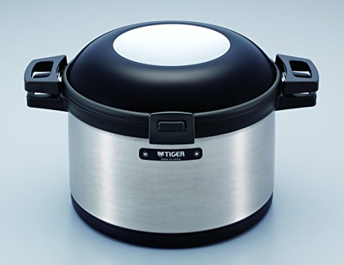 (Tiger NFI-A600 Vacuum Insulated Non-Electric Thermal Cooker, Double Wall, 203 Oz/6 L)