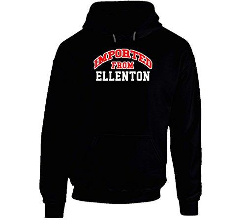 Ellenton Florida Imported From Cool Funny City Hoodie M - Florida Ellenton