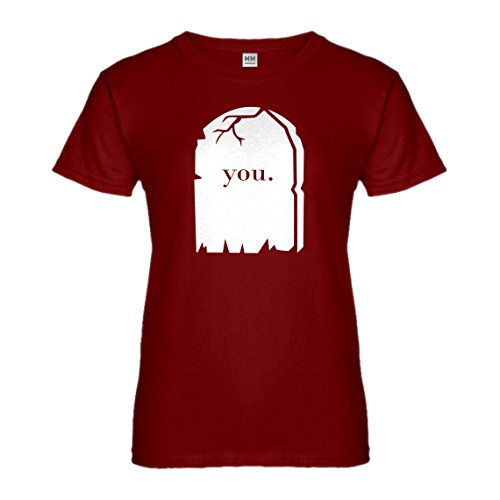 Indica Plateau Womens You're Dead to Me XX-Large Red T-Shirt ()