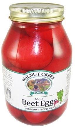 Walnut Creek Red Beet Pickled Eggs Glass Jar