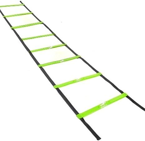 Kabalo 4m Speed Agility Ladder - Exercise Sport Football Agility Ladder - 4m Escalera de Agilidad - Equipos de Gimnasio en casa!: Amazon.es: Deportes y aire libre