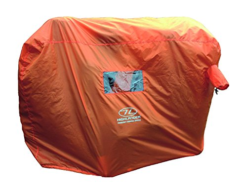 Emergency Shelter - Highlander 2-3 Person Emergency Survival Shelter - Orange