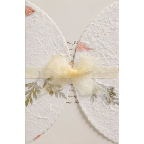 Wedding invitation kits do it yourself amazon wilton pressed floral wedding invitation kit junglespirit