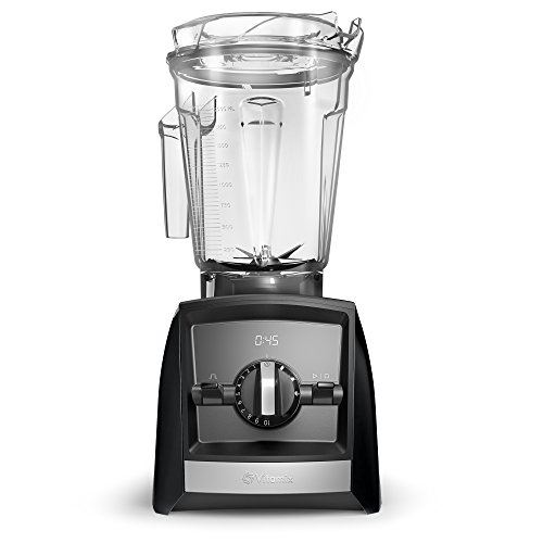 Vitamix A2500 Ascent Series Smart Blender, Professional-Grade, 64 oz. Low-Profile Container, Black