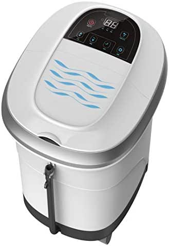 Prospera Pure Calf and Foot Spa, Foot Bath Massager with shiatsu Rollers, Heat, Jets, Digital Temperature and time Control, LED Display, Help to Release Stress and Relieve Foot Pain, 14 Pound