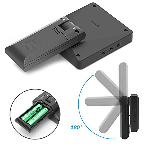 Silipower 1 bbq1 Bbq, 1 x Meat Thermometor + 6 x Probes, Black