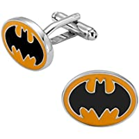 Cufflinks Cuff Links Fashion Jewelry Classical Party Shirt Bouton Mens Button Gift Classic Cloth Wedding XK150126 Black Bat Batman Vampire