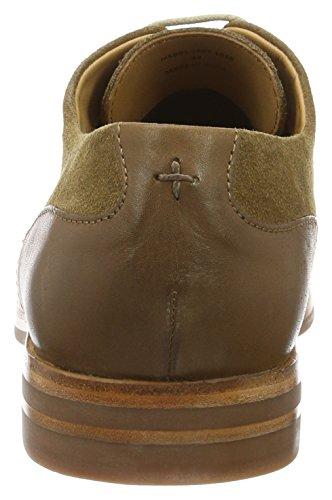 Suede Hudson 43 Enrico Tobacco para Hombre Oxford Marrón de Soft Zapatos Cordones FHfHnR