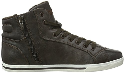 Dockers by Gerli Damen 35ne212-636 High-Top Schwarz (Schwarz 100)