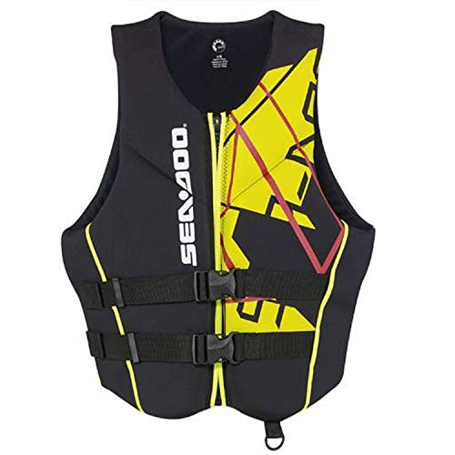 (Sea-Doo New OEM Freedom PFD Vest Life Jacket Preserver XL, 2858641210)