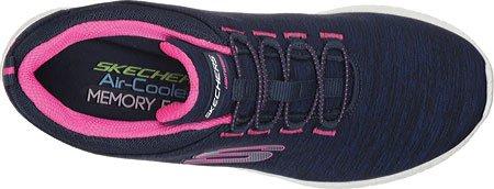 SkechersBurst Equinox - Zapatillas de running mujer azul marino/rojo