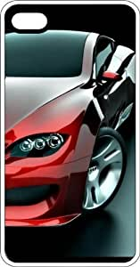 Audi Automobile White Plastic Case for Apple iPhone 4 or iPhone 4s by icecream design