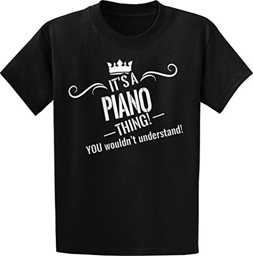 Threads of Doubt It's a Piano Thing! You Wouldn't Understand! Grunge Tee